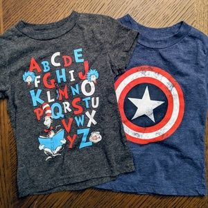 Other - *5/$20* Marvel and Dr Seuss T-shirts